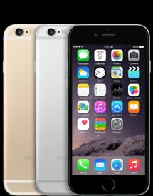 iPhone 6 16 GB Gold/Black/Silver + 2 year Apple warranty (phone only)