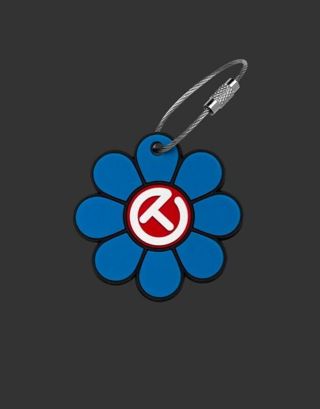 Scotty Cameron Key Fob -Scotty Cameron Design Flower Red/White/Blue 2021 US Open