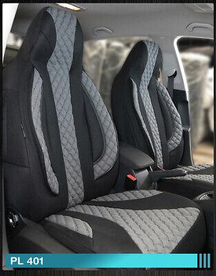 Maß Sitzbezüge Mercedes GLK X204 Fahrer & Beifahrer PL401