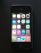 iPhone 4s 16G unlocked great condition with USB cable and charger Rockdale Rockdale Area Preview