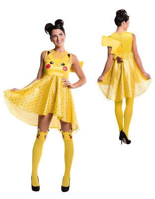 Womens Pikachu Dress Pokemon Costume Medium