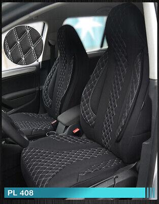 Maß Sitzbezüge Mercedes GLK X204 Fahrer & Beifahrer PL408