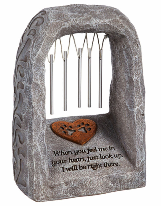 Dog Memorial Wind Chime - Feel Me In Your Heart