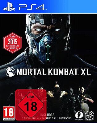 Mortal Kombat XL + DLCs auf Disc - PS4 Playstation 4 Spiel - NEU OVP