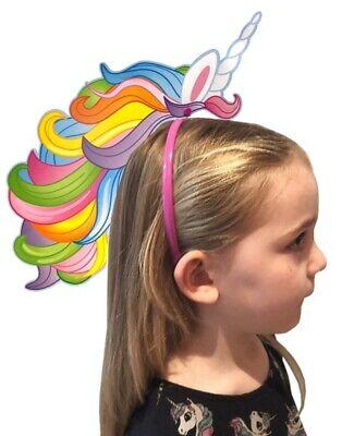 Haar Kostüm Cosplay Kopfbedeckung Kinder Geschenk Prty (Einhorn Kopf Kostüm)