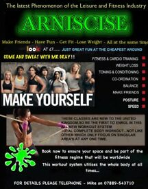 ARNISCISE - The latest fitness workouts