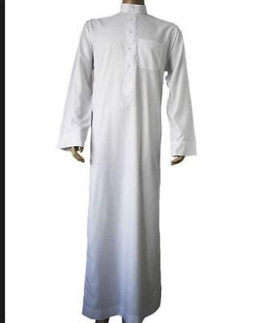 thobe arabic mens clothing desert costume robe long gown traditional arab prince