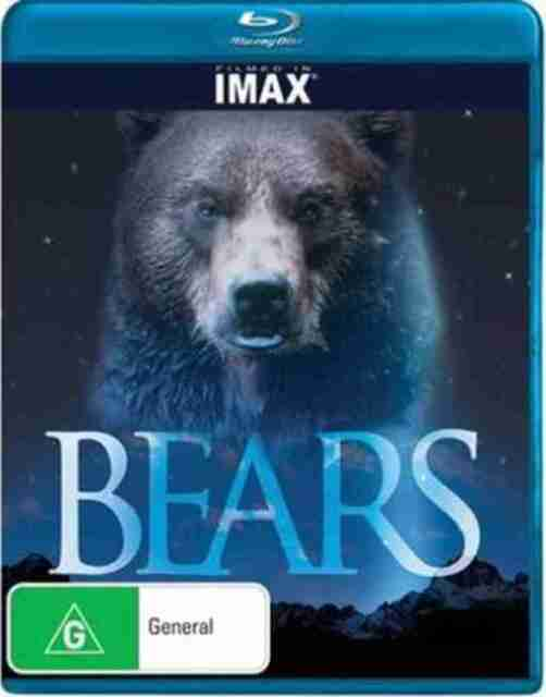 Bears  - Filmed in Imax - Blu Ray Documentary - Region Free