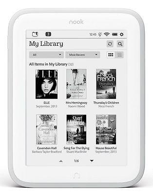 Barnes & Noble NOOK GLOWLIGHT eBook Reader E-Ink BNRV500 4GB