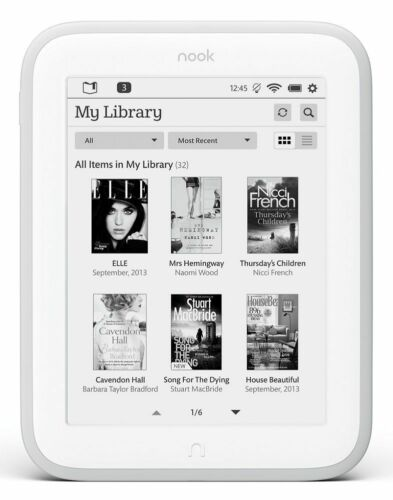 Barnes & Noble NOOK GLOWLIGHT eBook Reader E-Ink BNRV500 4GB