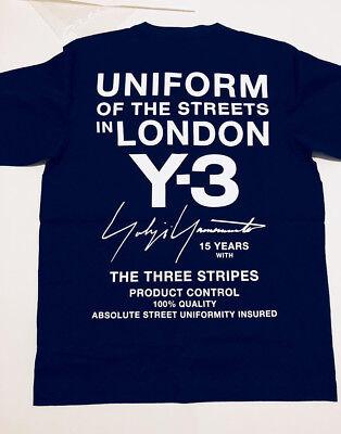 Limited Edition T-shirt LARGE Y-3 Adidas Yohji Yamamoto Uniform of the Streets