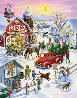 Barnyard Christmas Advent Calendar (Countdown to Christmas) ()