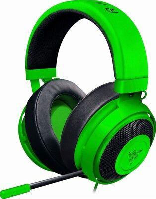 New Razer Kraken Pro V2 Analog Gaming Headset Pc Xbox One Ps4 Rz04 0205060 R3u1