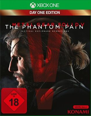 Metal Gear Solid V: The Phantom Pain - Day One Edition XBOX-One Neu & OVP