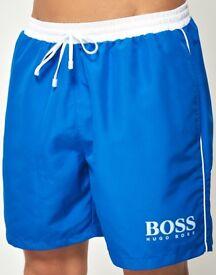 Genuine Brand New Hugo Boss swim shorts size L