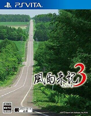 USED PS Vita Furaiki 3 PlayStation Vita Video Games Japan Game Import 132