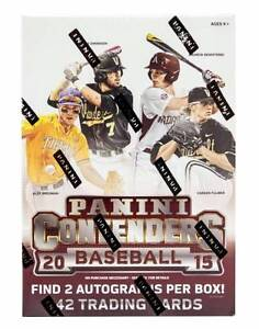 2015 Panini Contenders MLB Baseball Cards Box with 2 Autographs! Wangara Wanneroo Area Preview