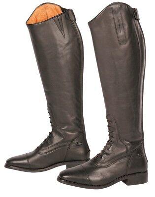 Leder Reitstiefel mit Schnürleiste Solo Harrys Horse schwarz Standard