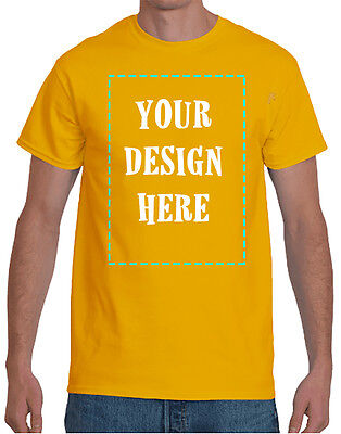 - SCREEN PRINTED CUSTOM T-SHIRT / BOTH SIDES / MULTI COLORS PRINT | DTG PRINTING