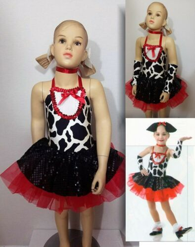 Lot of 17 Perky Puppy Dance Costumes with 8 Sets Sleeves & 5 Ears Child Sizes
