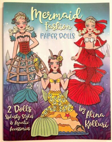 Splashy Styles! MERMAID FASHION Paper Dolls - by Alina Kolluri
