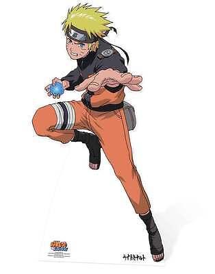 Naruto from Naruto Shippuden LIFESIZE CARDBOARD CUTOUT / STAND UP STANDEE Anime