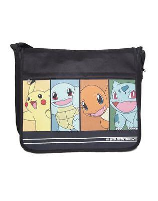 Pokémon - Starting Characters Messengerbag Tasche Neu