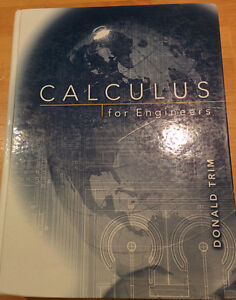 Calculus for Engineers hardcover - Donald Trim