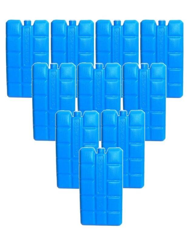 DKB - 10er Set Kühlakkus Blau, 200g Kühlelemente Kühlen Eis