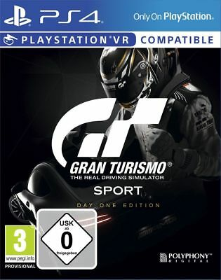 Gran Turismo Sport PS4 Spiel Day One Edition GT Sport Playstation 4 *NEU OVP*