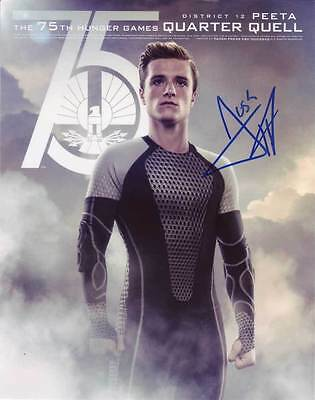 Josh Hutcherson In Person Authentic Autographed Photo Coa Hunger Game Sha  74322