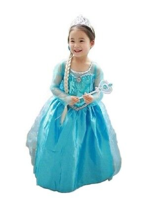 [Dream-studio original] Ana and The Snow Queen Frozen Elsa Dress princess dress - Ana And Elsa Costume