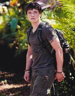 Josh Hutcherson In Person Authentic Autographed Photo Coa Sha  33015