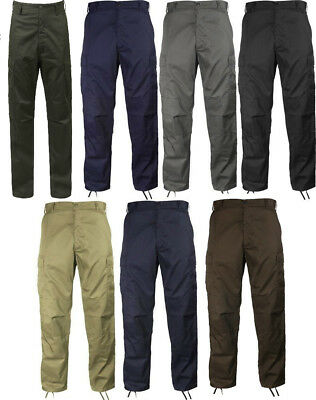 BDU Cargo Pants  Military Fatigue Solid Color Rothco 7901 7838 7971 8578 8810