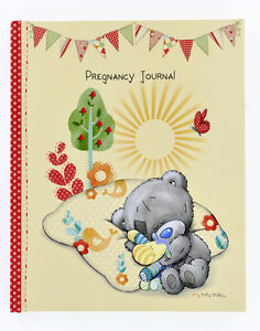 Pregnancy Diary Journal Tiny Tatty Teddy Memory Keepsake Baby Book