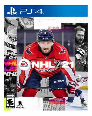 NHL 21 -- Standard Edition (Sony PlayStation 4, 2020) PS4 BRAND NEW