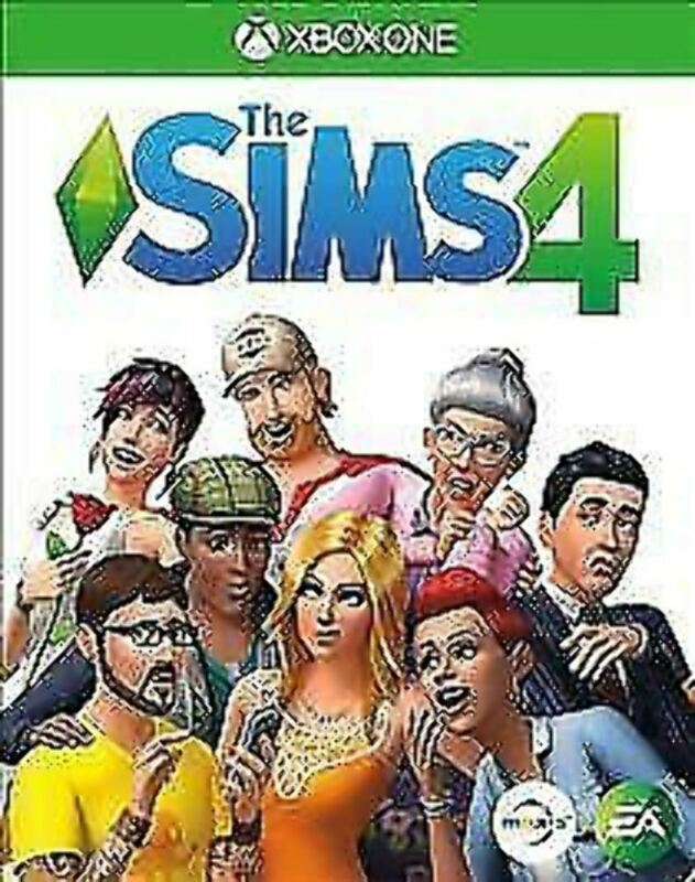 The Sims 4 GAME (Microsoft Xbox One, 2017)