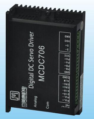 200w 24v-50vdc All Digital Brushed Dc Servo Motor Driver Jmc Mcdc706 1000 Line