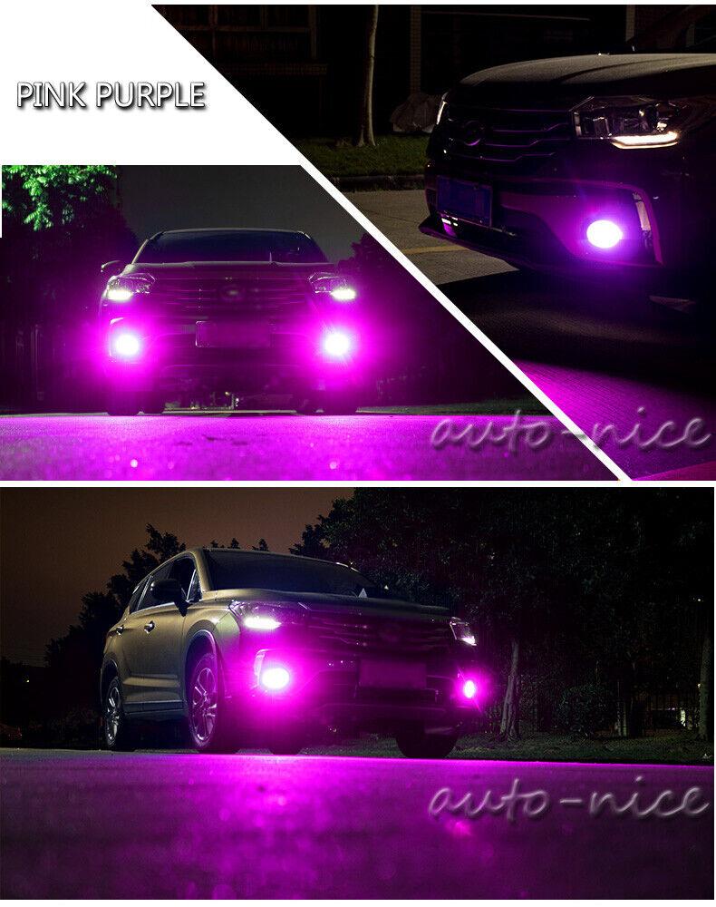 Fog Light  DRL LED Drving bulb  30SMD H3 Purple Pink
