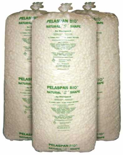 Packing Peanuts 14 cubic feet   Biodegradable  (LOCAL PICKUP ONLY - MEMPHIS, TN)