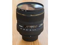 Sigma 17-35mm 2.8-4 DG HSM EX wide angle lens: Nikon fit