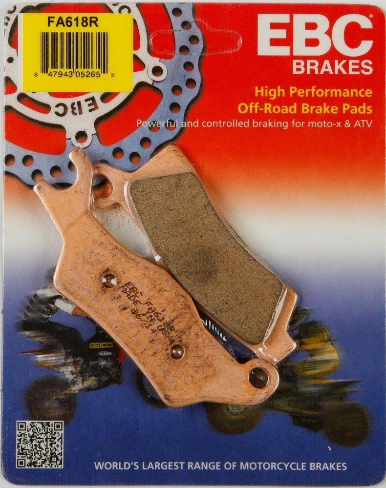 NEW EBC FA377R R Series Long Life Sintered Brake Pads