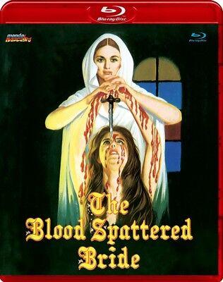 THE BLOOD SPLATTERED BRIDE Mondo Macabro RED CASE BluRay CARMILLA Erotic VAMPIRE