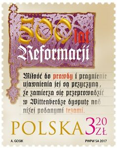 500 years of the Reformation - 2017. - <span itemprop='availableAtOrFrom'>Kraków, Polska</span> - 500 years of the Reformation - 2017. - Kraków, Polska