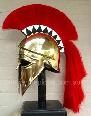 Medieval Wearable Greek Corinthian Helmet Knight Helmet Spartan Gladiator](Greek Spartan)