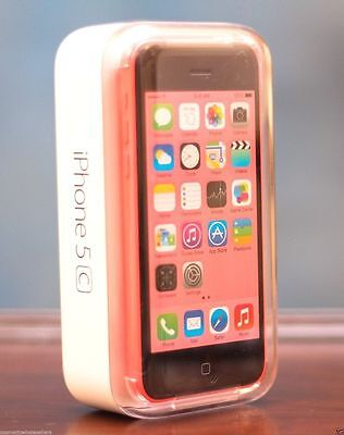 New In Box Apple iPhone 5c 16 GB Pink GSM Unlocked for ATT T-Mobile