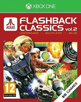 Atari Flashback Classics Vol.2   Xbox One New