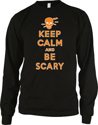 ry Halloween Poster Skull Bats Costume Party Men's Thermal (Scary Halloween-poster)