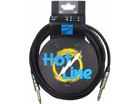 "LEEM HOT-3.0SS Hotline 3m(10ft) Instrument/Guitar Cable/Jack 1/4"" (14 available)"