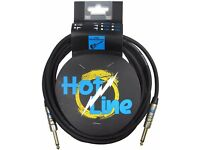 """LEEM HOT-3.0SS Hotline 3m(10ft) Instrument/Guitar Cable/Jack 1/4"""" (14 available)"""